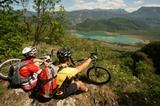 Mountainbiken am Kalterer See