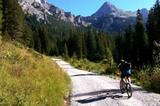 Mountainbiker im Karwendel