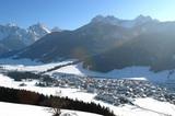 Niederdorf winterlich