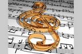 Notenschlüssel - Musiker