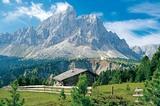 Peitlerkofel (2875m) vom Würzjoch gesehen