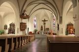 Pfarrkirche in St. Lorenzen Innenansicht