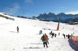 Plose: Skifahren mit Dolomitenblick