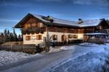 Ronerhütte im Winter