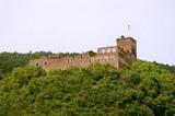 Schloss Boymont, die Burgruine oberhalb von Missian (Eppan)