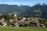 Schnauders mit Dolomitenblick