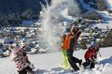 Schneegaudi in Enneberg