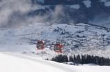 Schönjochbahn im Skigebiet Serfaus-Fiss-Ladis