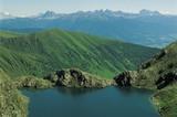 Seefeldsee mit Dolomiten