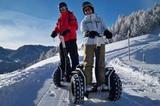 Segway-Trekking im Winter