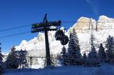 Skifahren am Karerpass (1753 m)