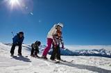 Skifahren am Venet