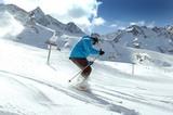 Skifahren im Stubai
