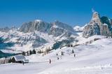 Skigebiet Alta Badia / Praloncia mit Puetzgruppe