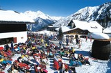 Sonnengenuss im Skigebiet Speikboden