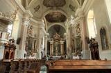 Spätbarocke Pfarrkirche in Niederdorf