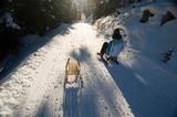 Spaß am Schlitten in Tirol