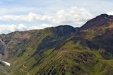 Stilfser Joch (links) und Rötlspitze (ganz rechts)