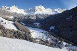 Südtirol - St. Zyprian im Winter