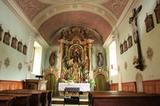 Wallfahrskirche Maria-Saalen / Innenansicht mit Gnadenaltar