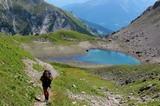 Wanderer im Arlberggebiet