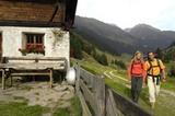 Wanderer im Stubai