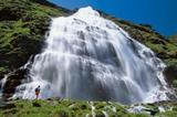 Wasserfall im Tauerngebiet