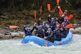 Wildwasserspaß mit Wiggi Rafting!
