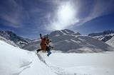 Winter im Pitztaler Hochgebirge