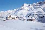 Zufallhütte (2265m) im Ortler-Cevedale-Massiv
